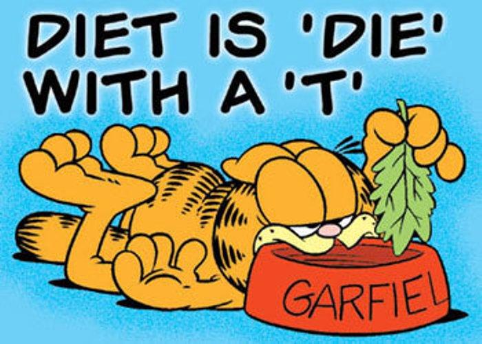 Garfield - Diet is Die with a T